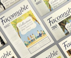 Façonnable Lifestyle Newspaper