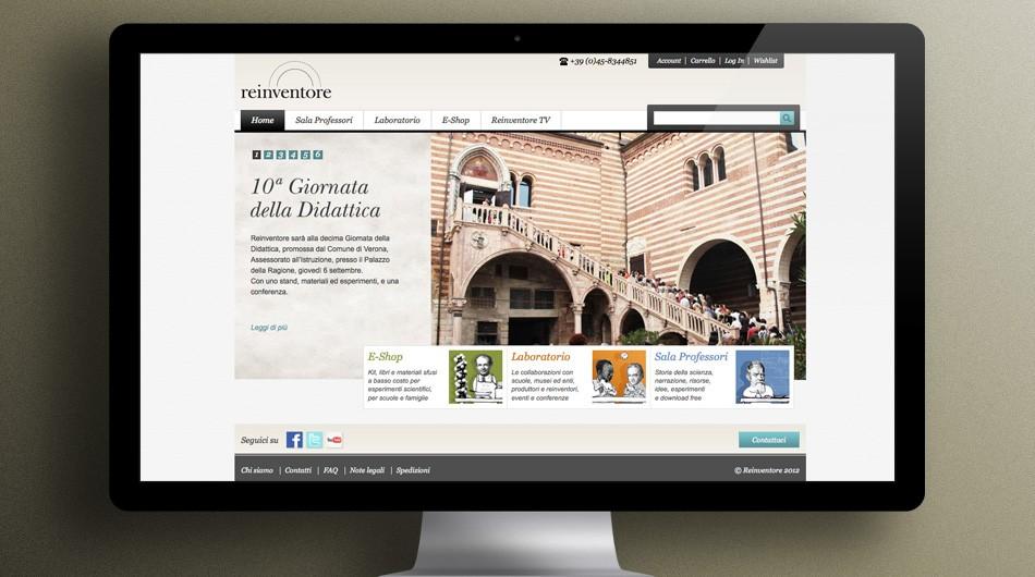 Reinventore website